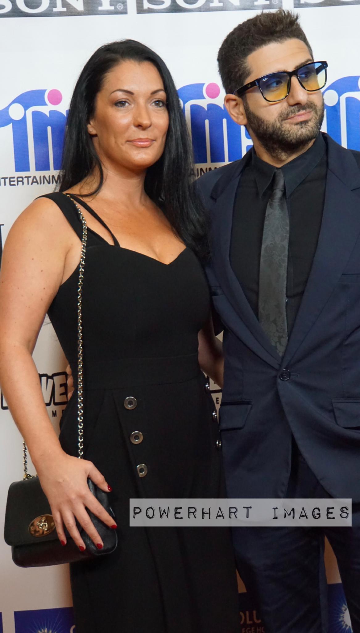 Aiman Harhish and Jo Morris at an event for Dagenham (2018)