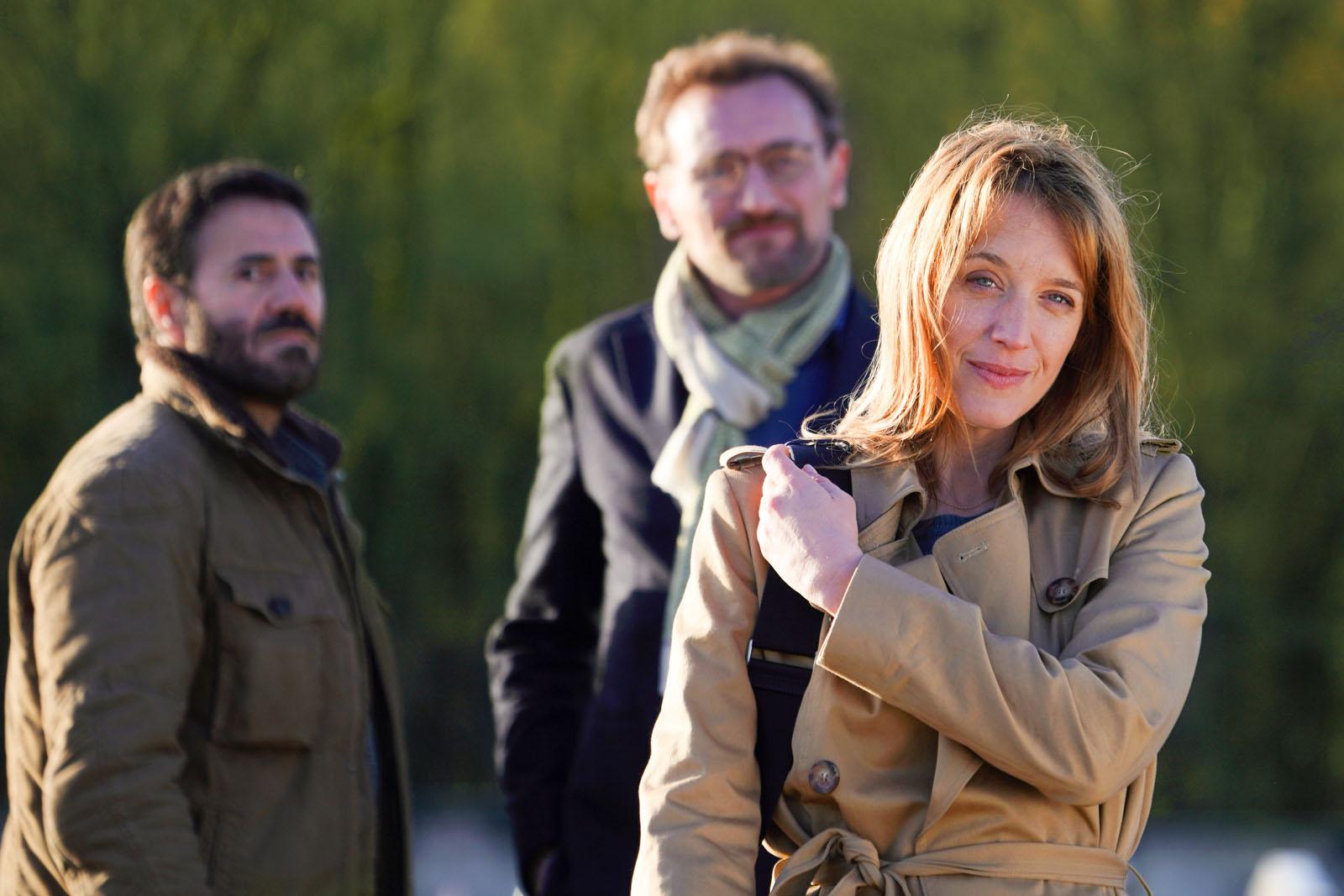 José Garcia, Jean-Paul Rouve, and Ludivine Sagnier in Lola et ses frères (2018)