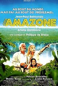 Jean-Paul Belmondo, Thylda Barès, and Arielle Dombasle in Amazone (2000)