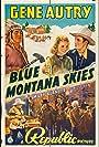Gene Autry, Smiley Burnette, June Storey, and Glenn Strange in Blue Montana Skies (1939)