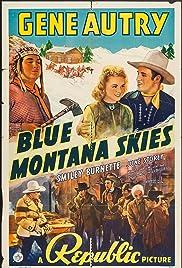 Blue Montana Skies Poster