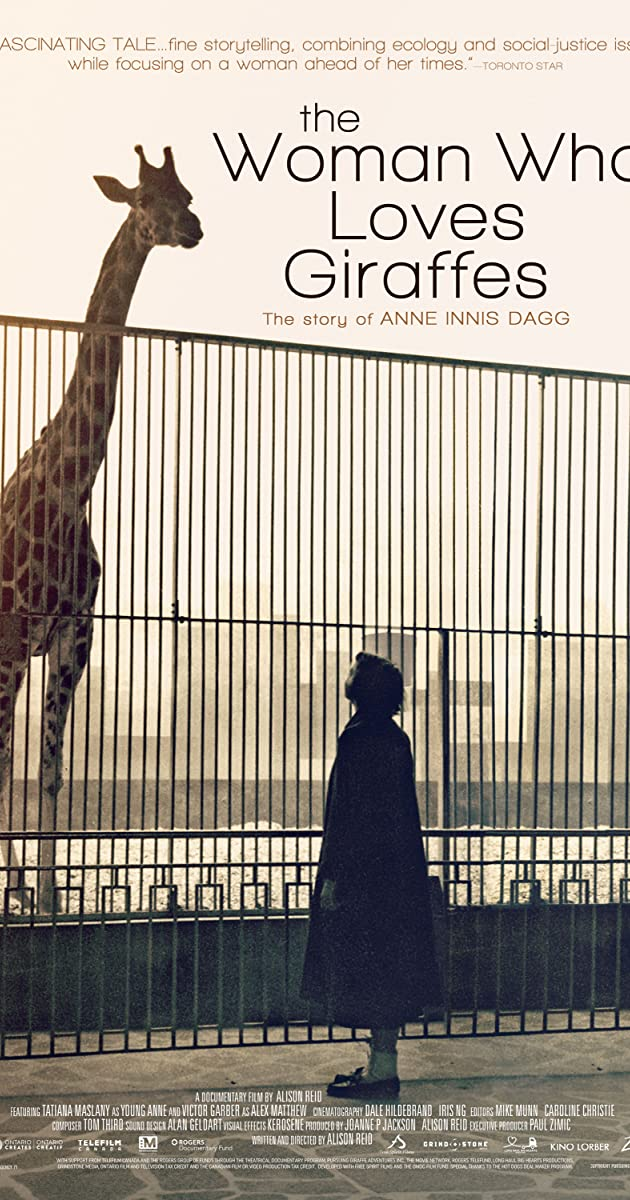 image poster from imdb - The Woman Who Loves Giraffes (2018) • Movie