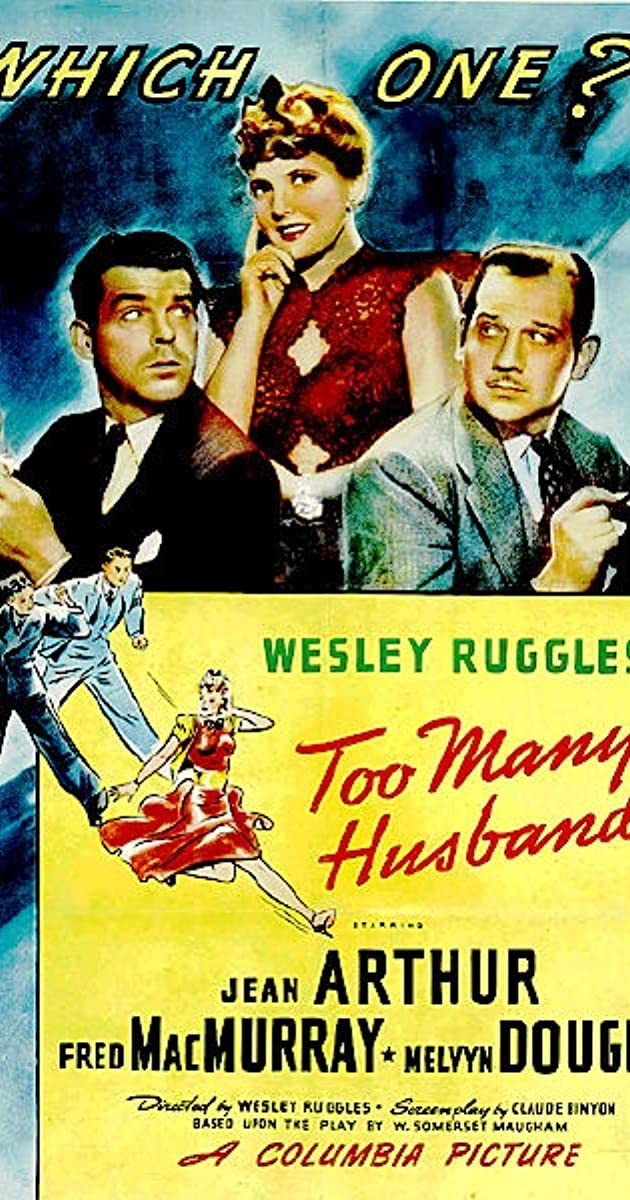 Too Many Husbands 1940 Imdb