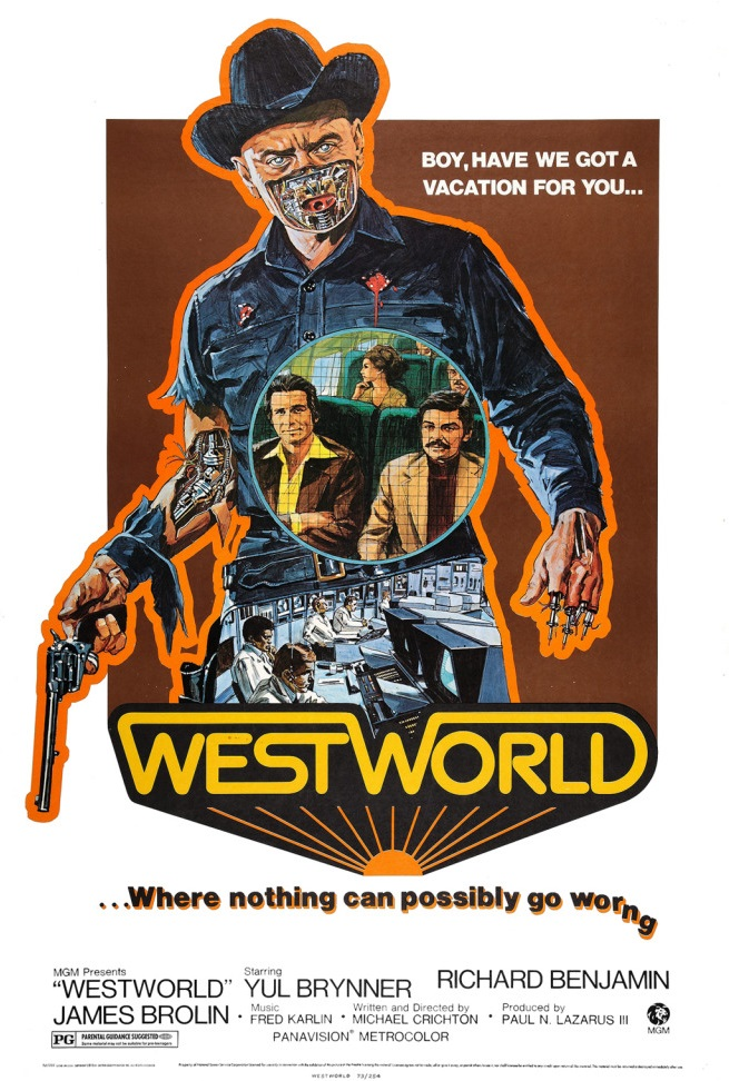 Westworld (1973) BluRay 480p, 720p & 1080p