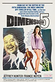 Dimension 5 (1966) Poster - Movie Forum, Cast, Reviews