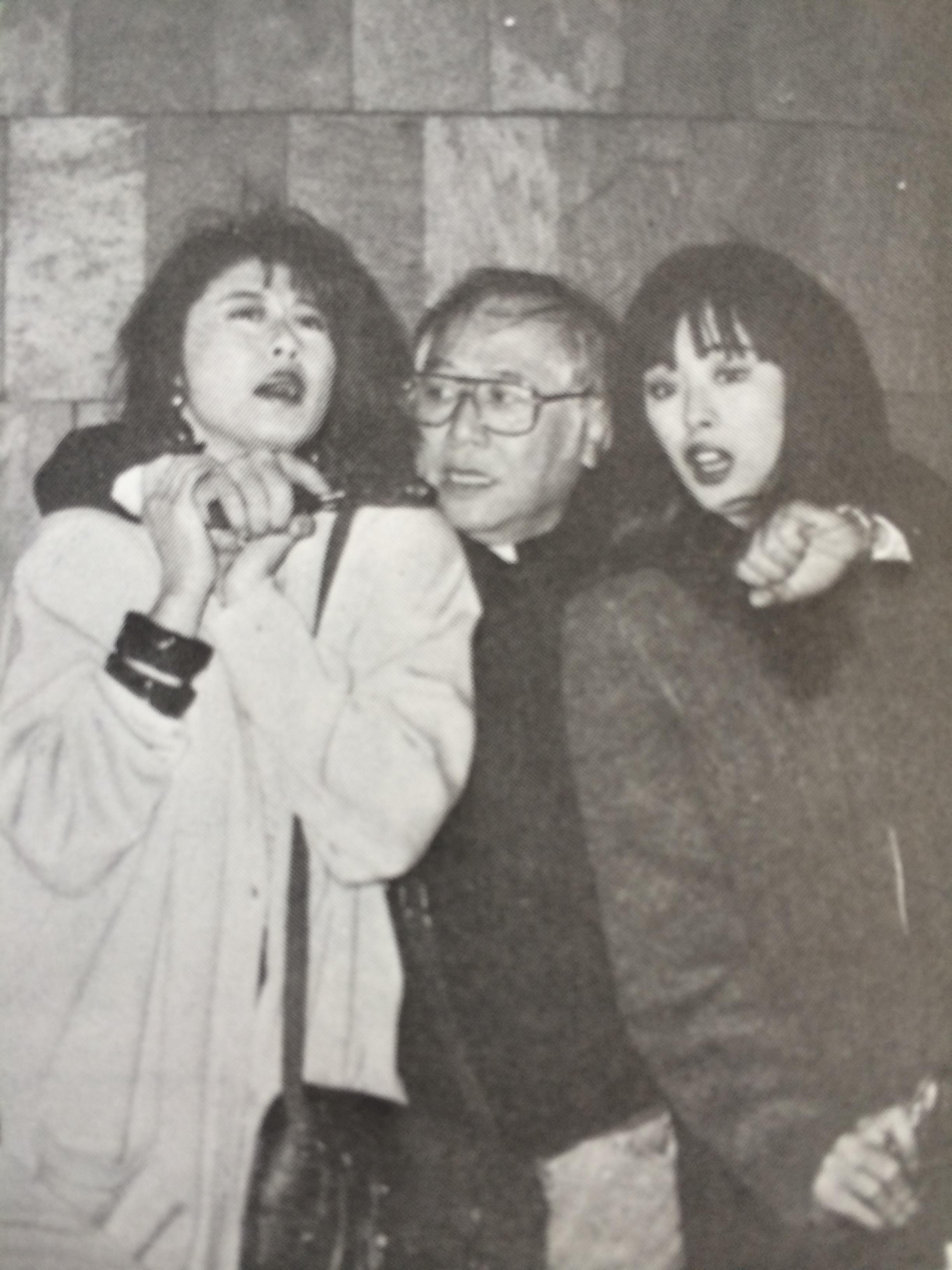 Joey Wang and Sally Yeh in Daai jeung foo yat gei (1988)