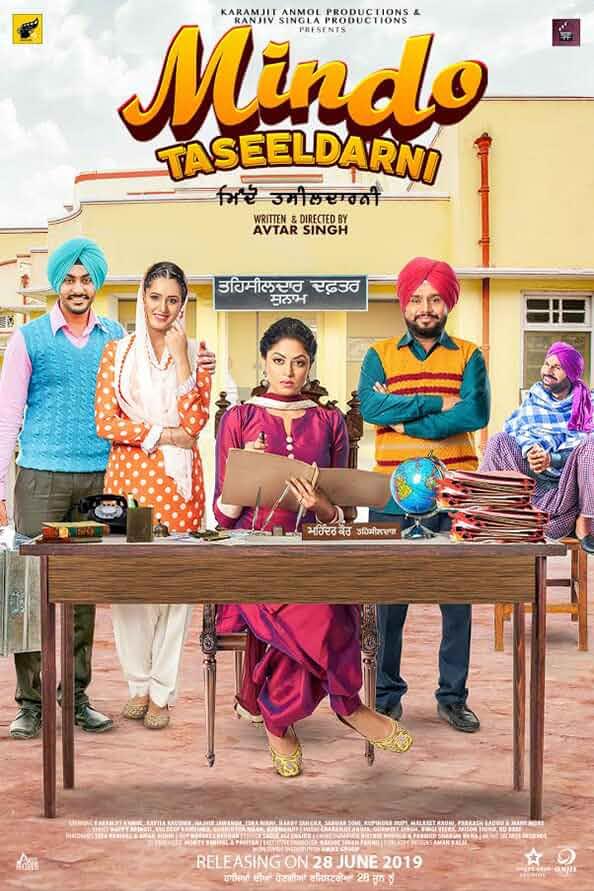 Mindo Taseeldarni (2019) Punjabi – AMZN WeBDL- 1080p – 720p – H264 – DDP2.0 – Esub – DusIcTv