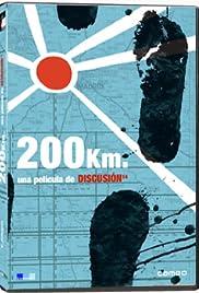 200 Km. Poster