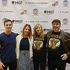 """Treasure Coast Talent actors in """"Taneycomo"""" David Michael Reardon, Meggie Jenny, Debbie Sutcliffe and Steven Brown"""