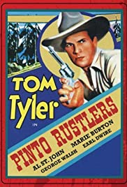 Pinto Rustlers Poster