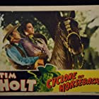 Tim Holt and Marjorie Reynolds in Cyclone on Horseback (1941)