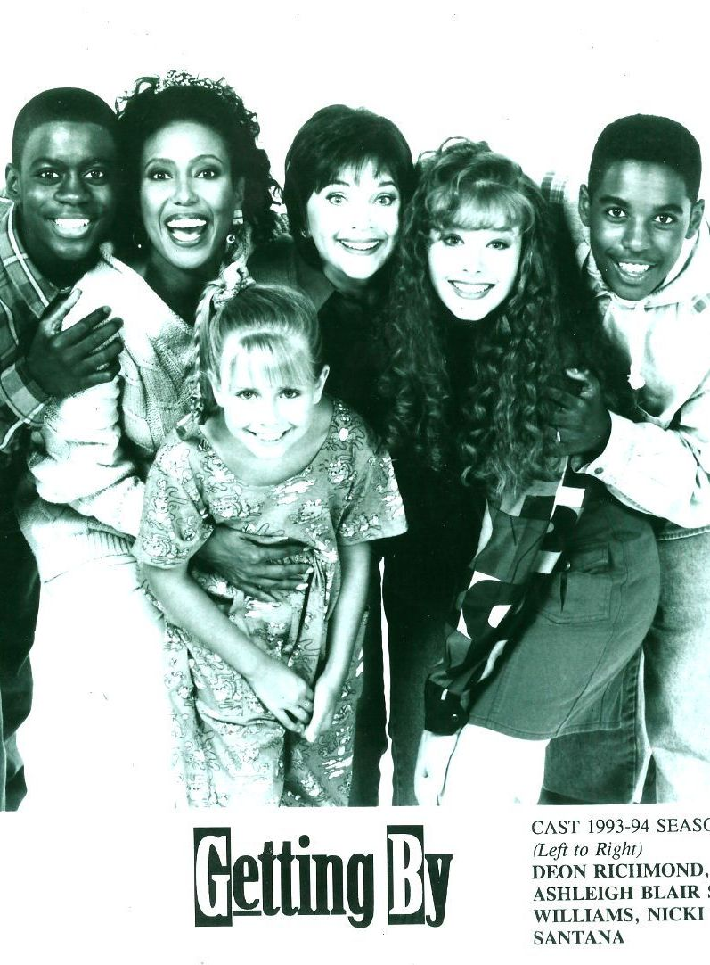 Telma Hopkins, Deon Richmond, Merlin Santana, Ashleigh Sterling, Nicki Vannice, and Cindy Williams in Getting By (1993)