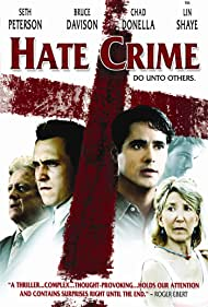 Bruce Davison, Lin Shaye, Chad Donella, and Seth Peterson in Hate Crime (2005)