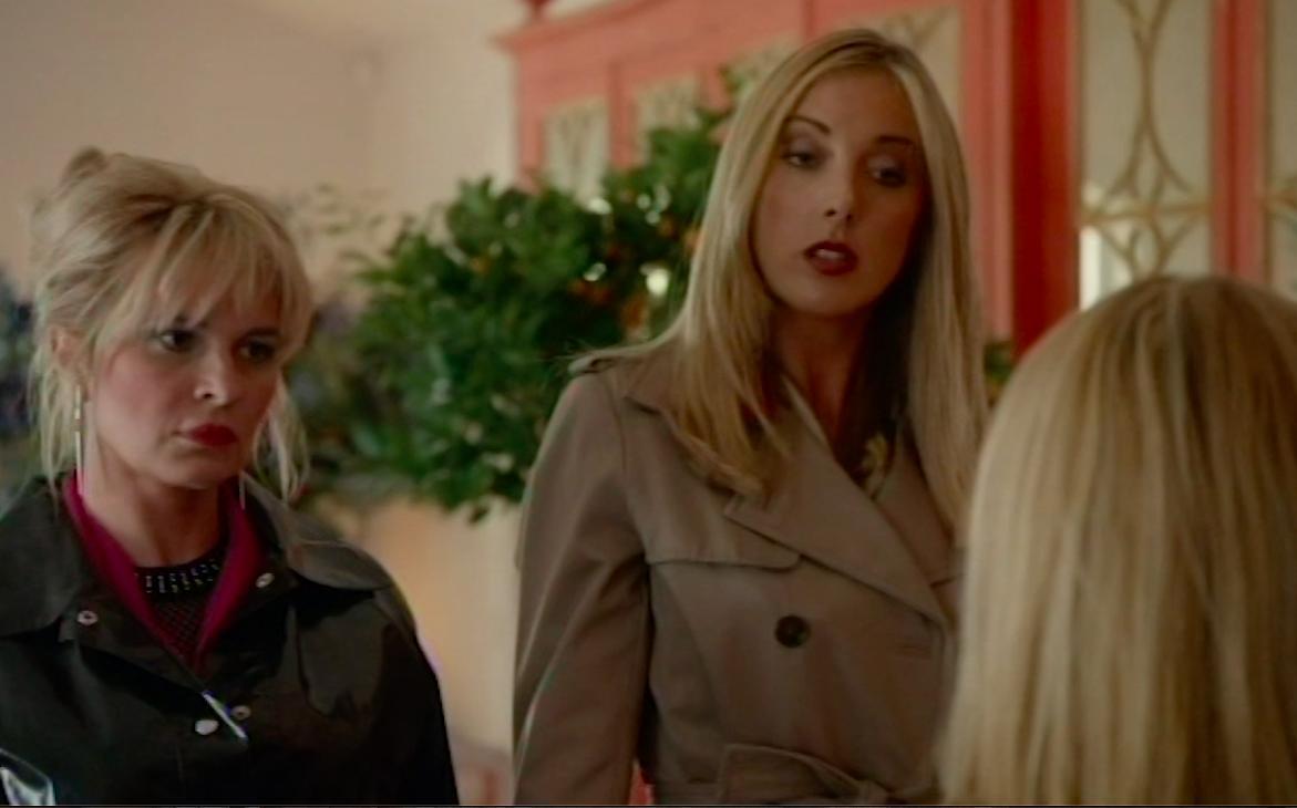Still of Milanka Brooks and Kierston Wareing in Do Not Disturb, UKTV Gold