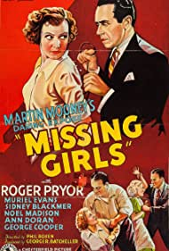 Muriel Evans and Roger Pryor in Missing Girls (1936)