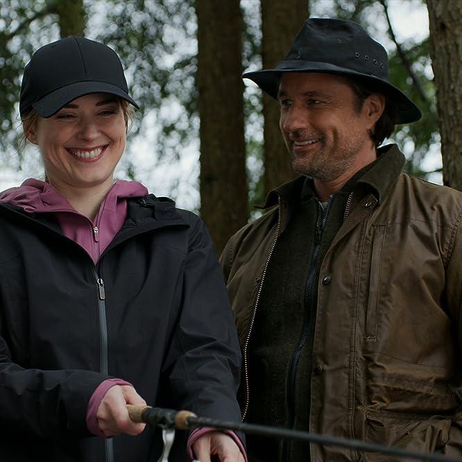 Martin Henderson and Alexandra Breckenridge in Virgin River (2019)