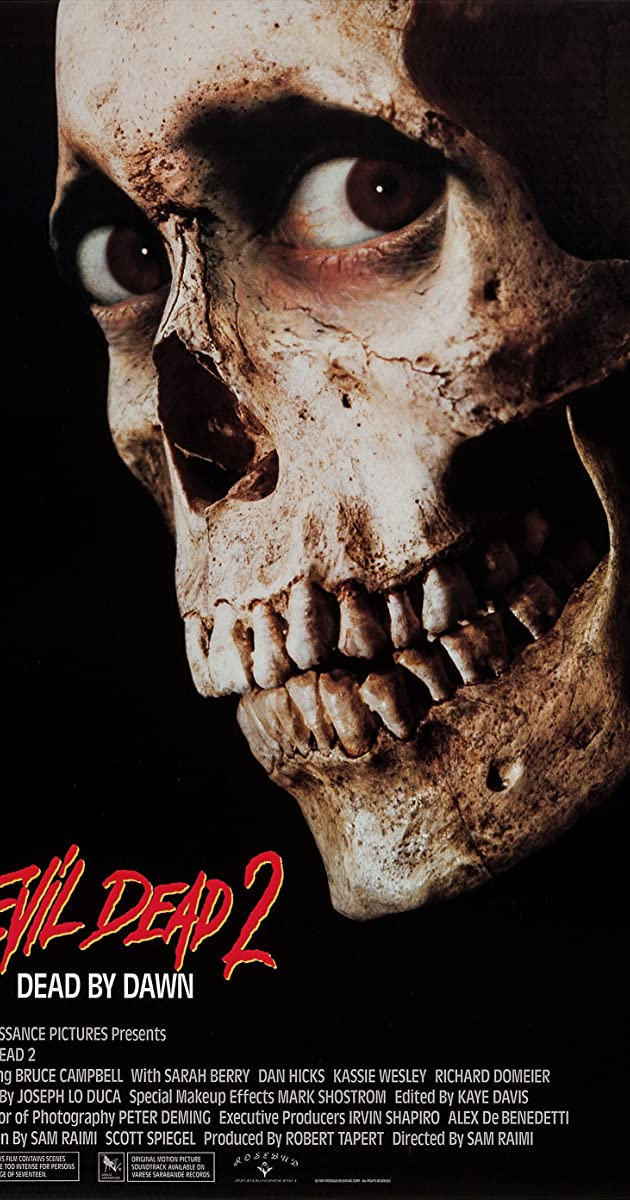 Subtitle of Evil Dead II