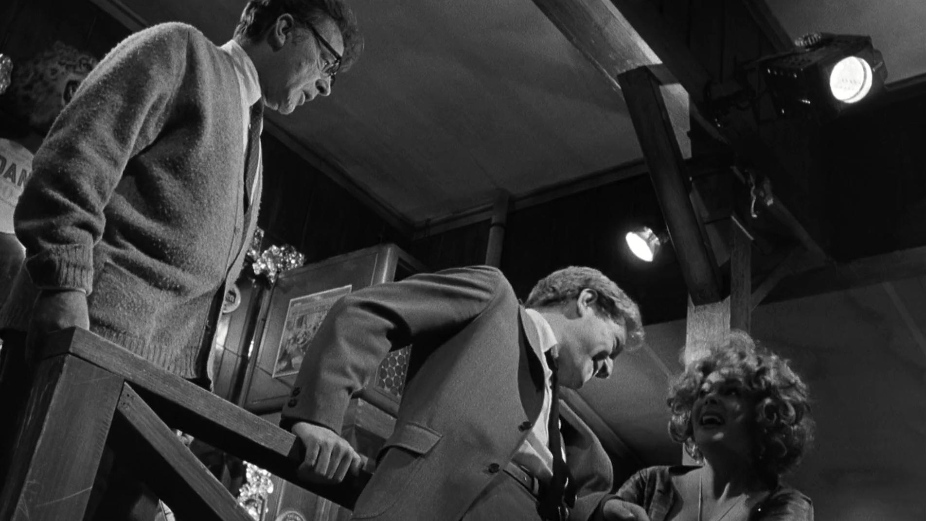Richard Burton, Elizabeth Taylor, and George Segal in Who's Afraid of Virginia Woolf? (1966)