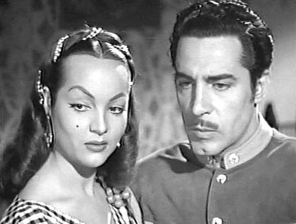 Marco de Carlo and Sara Montiel in Yo soy gallo dondequiera!.. (1953)