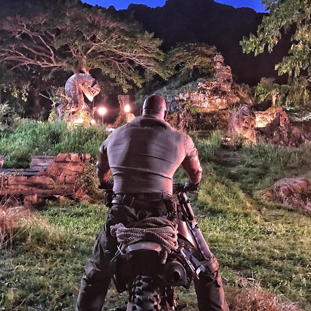 Dwayne Johnson in Jumanji: Welcome to the Jungle (2017)
