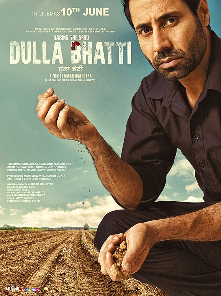 Dulla Bhatti Wala (2016) Punjabi Movie 480p HDRip x264 ESubs 400MB