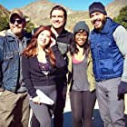 Scott Hamm, Kipp Tribble, Michele Martin, Rob Mayes, and Nija Okoro in The Stay (2021)