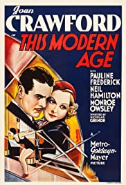 This Modern Age (1931) Poster - Movie Forum, Cast, Reviews