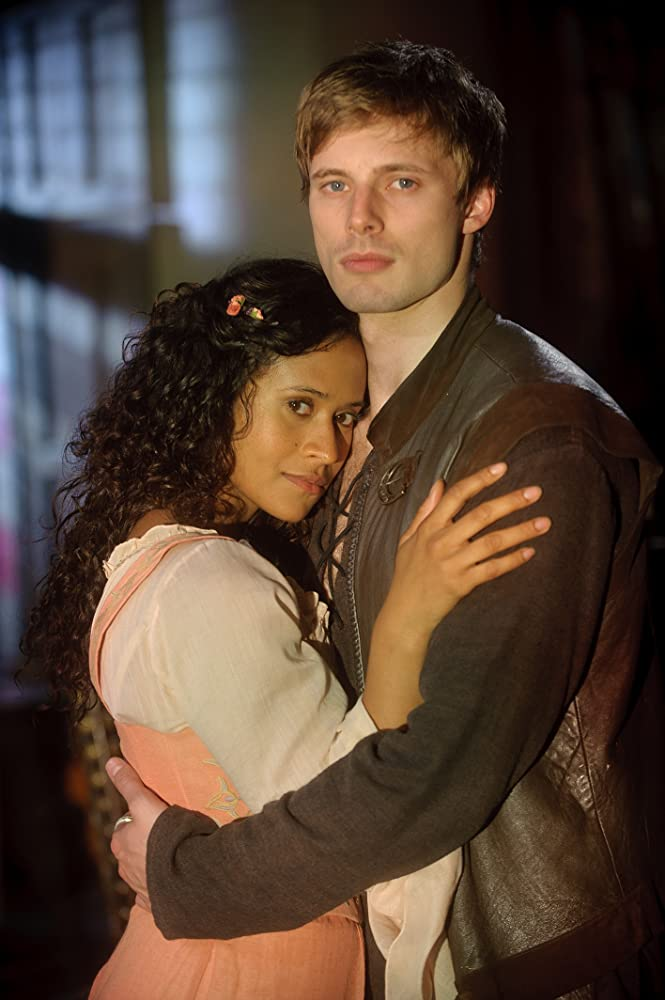 Does Bradley Jamess girlfriend is Angel Coulby? Here is