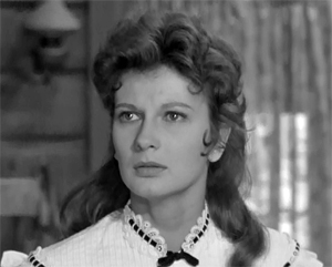 Miranda Jones in Lawman (1958)