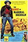 The Badge of Marshal Brennan (1957) Poster