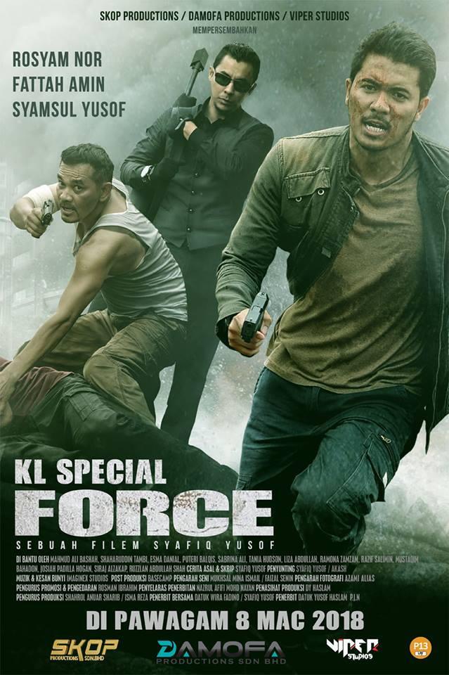 KL Special Force (2018) Dual Audio Hindi HDRip 450MB Download