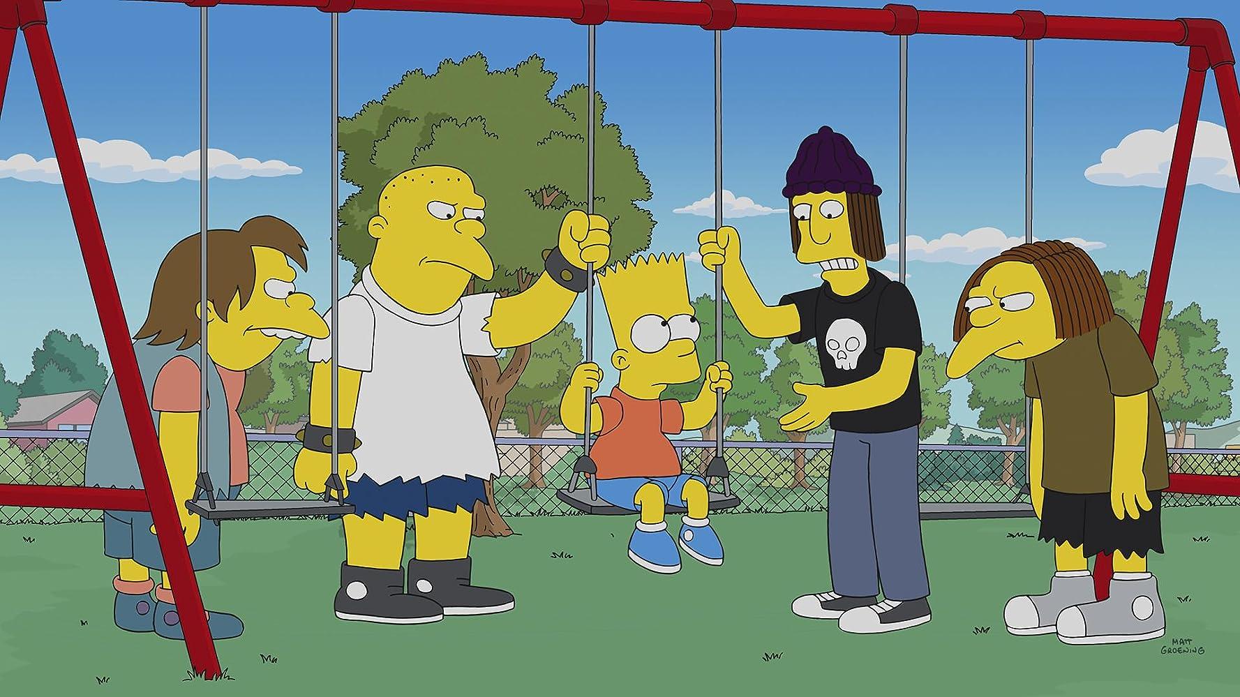 Nancy Cartwright, Pamela Hayden, and Tress MacNeille in The Simpsons (1989)