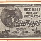 Buzz Barton, Rex Bell, and Ruth Mix in Gunfire (1934)