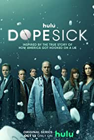 Michael Keaton, Rosario Dawson, Peter Sarsgaard, Will Poulter, and Kaitlyn Dever in Dopesick (2021)