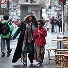 Catherine Frot and Mahamadou Yaffa in Sous les étoiles de Paris (2020)