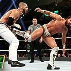 Ariya Daivari and Anthony Nese in WWE Money in the Bank (2019)