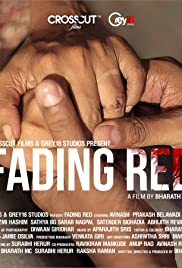 Fading Red Poster