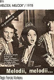 Radu Goldis, Margareta Pîslaru, and Sergiu Zagardan in Melodii, melodii... (1978)