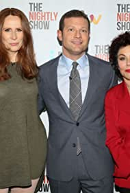Dermot O'Leary, Catherine Tate, and Ruby Wax in The Nightly Show (2017)