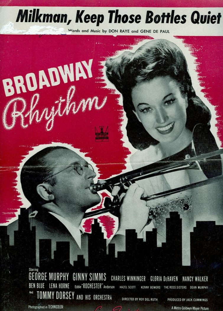 Tommy Dorsey and Ginny Simms in Broadway Rhythm (1944)