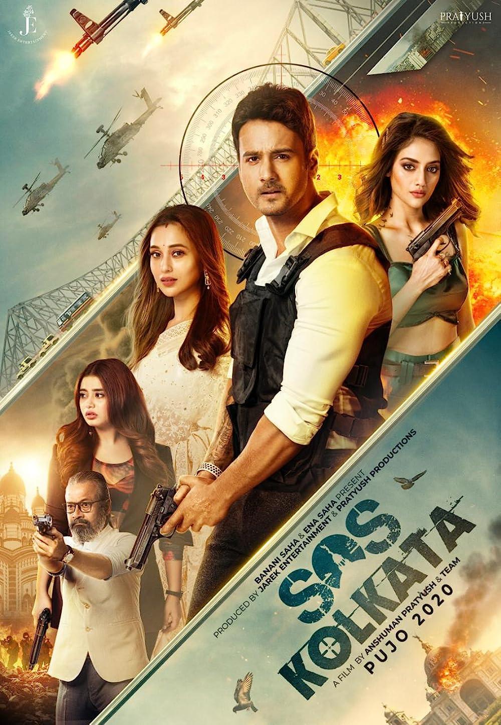 SOS Kolkata 2021 Bengali Movie 1080p ZEE5 HDRip 1.71GB Download
