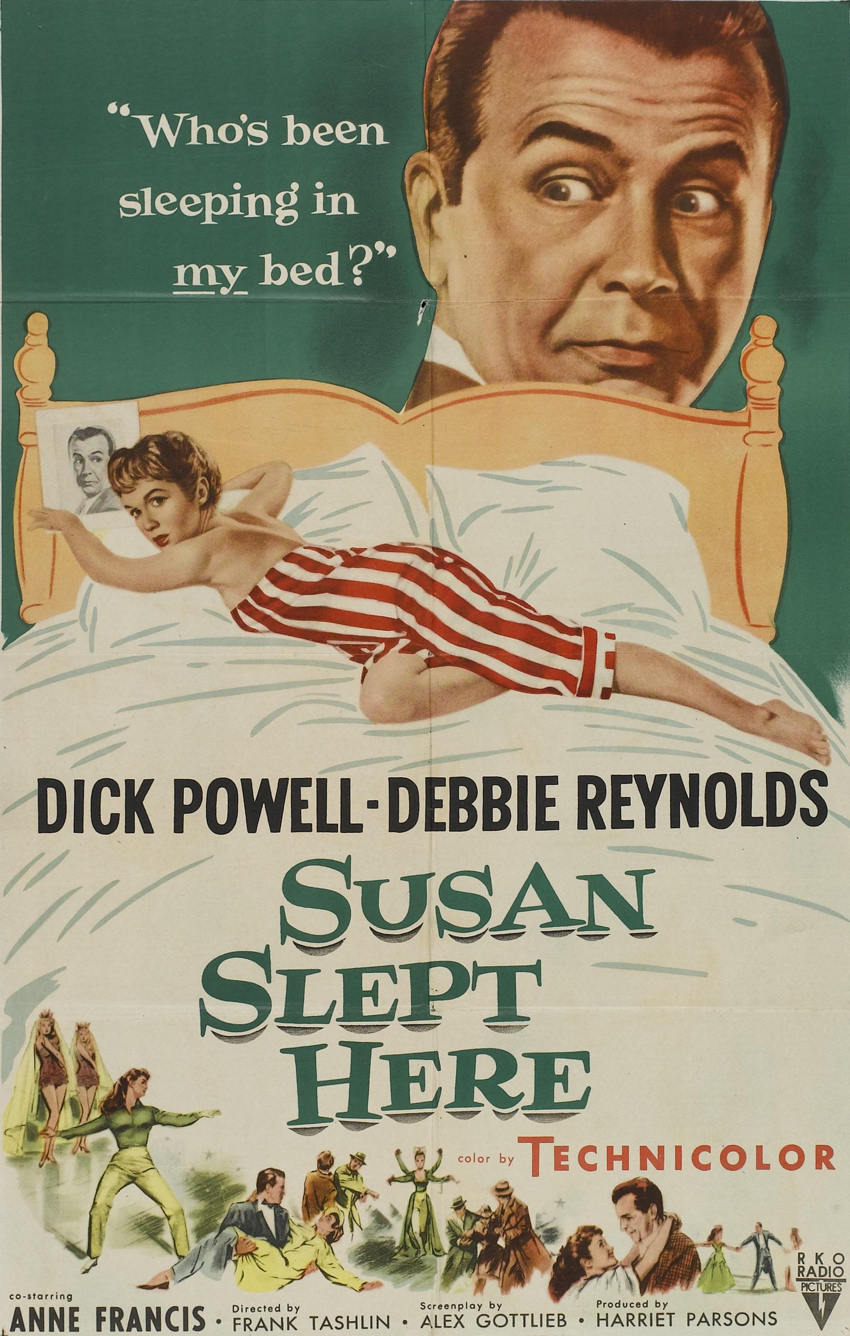 Susan Slept Here (1954) - IMDb