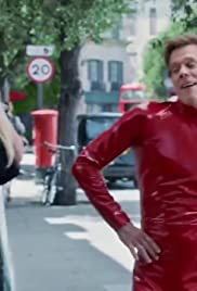 Britney Spears Catches Kevin Bacon Dancing: Apple Music UK Commercial Poster