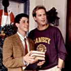 Anthony Edwards and Corey Parker in How I Got Into College (1989)
