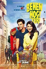 Shruti Haasan and Rajkummar Rao in Behen Hogi Teri (2017)