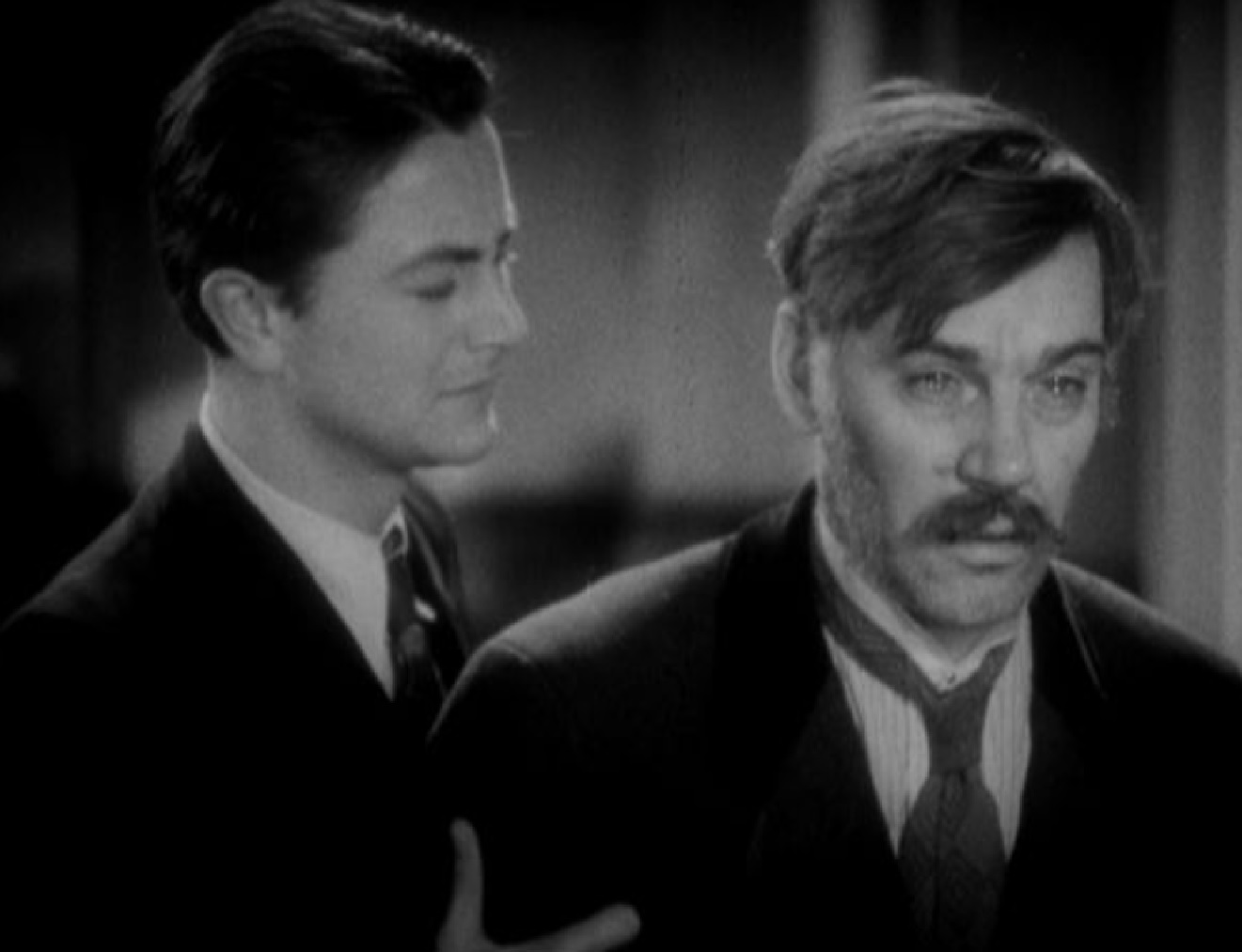 Robert Young and Walter Huston in The Wet Parade (1932)