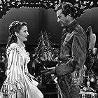 Ray Milland and Barbara Stanwyck in California (1947)
