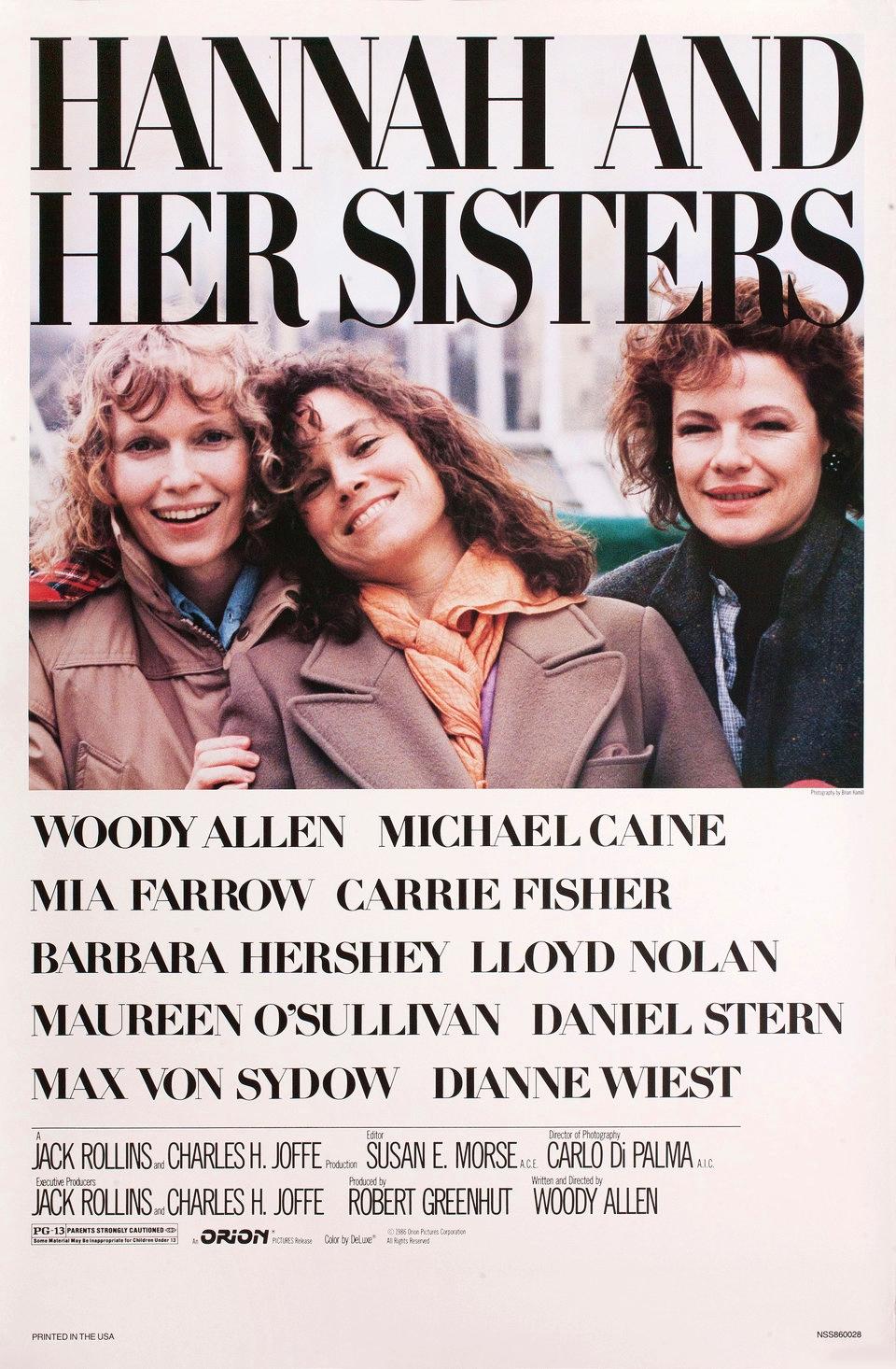 HANA IR JOS SESERYS (1986) / HANNAH AND HER SISTERS