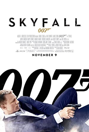 James Bond 007 Skyfall 2012