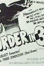 Murder in 3-D Poster